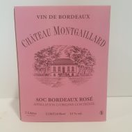 Bag in Box Châetau Montgaillard rosé 3 litres