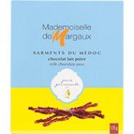 Sarment du Médoc chocolat lait poire 125 gr